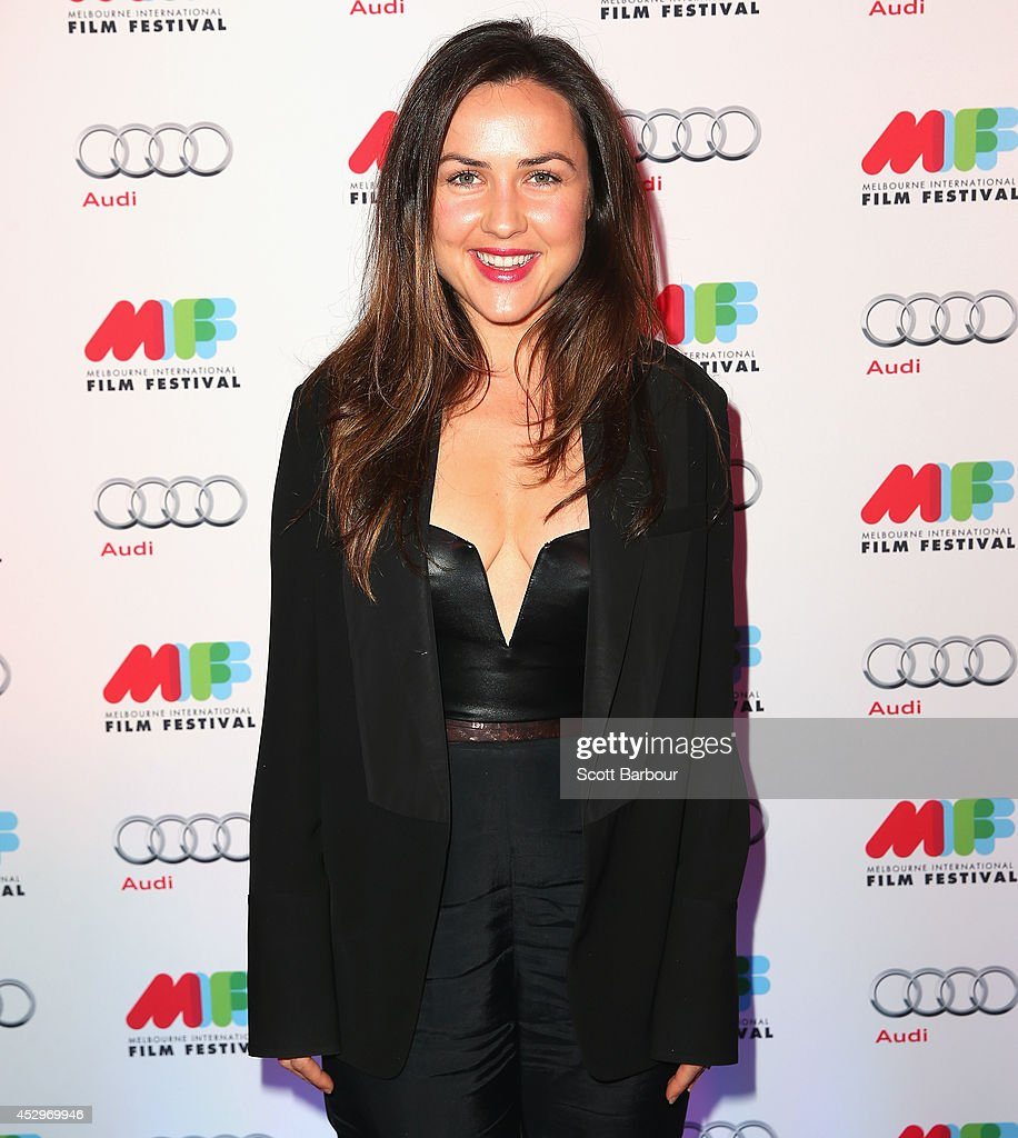 Jane Harber attends the opening night of the 63rd Melbourne International Film Festival at Hamer Hall on July 31, 2014 in Melbourne, Australia.
