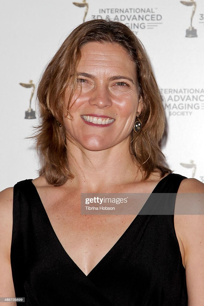 Jane Hartwell attends the annual International 3D and Advanced Imaging Society's Creative Arts Awards at Warner Bros. Studios on January 28, 2014 in Burbank, California.