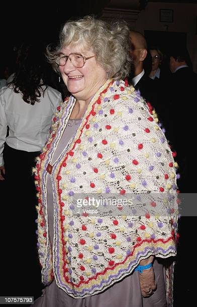 Jane Henson poses at the 25th Anniversary of The Muppet Show at The Palace in Hollywood California