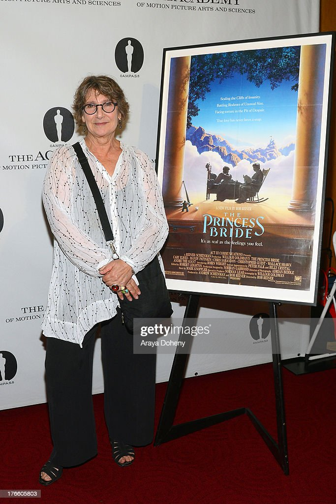 Jane Jenkins attends the Academy Of Motion Picture Arts And Sciences' Presents 'The Princess Bride' With Live Commentary Onstage at AMPAS Samuel Goldwyn Theater on August 15, 2013 in Beverly Hills, California.