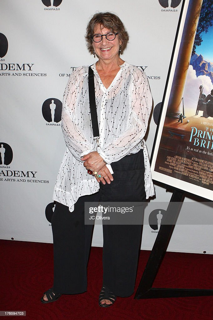 Jane Jenkins attends 'The Princess Bride' Live Commentary hosted by Jason Reitman at The Academy at AMPAS Samuel Goldwyn Theater on August 15, 2013 in Beverly Hills, California.