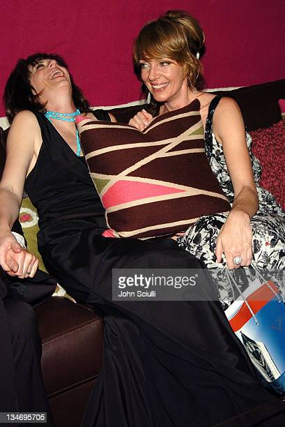 Jane Kaczmarek and Allison Janney during Backstage Creations 2005 Screen Actors Guild Awards The Talent Retreat Day 2 at Shrine Auditorium in Los...