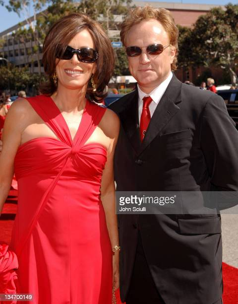 Jane Kaczmarek and Bradley Whitford during Audi Arrivals at the 58th Auunaul Primetime Emmy Awards at Shrine Auditorium in Los Angeles CA United...