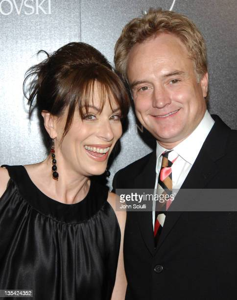 Jane Kaczmarek and Bradley Whitford during Costume Designer's Guild Awards Arrivals at The Beverly Wilshire Hotel in Beverly Hills California United...