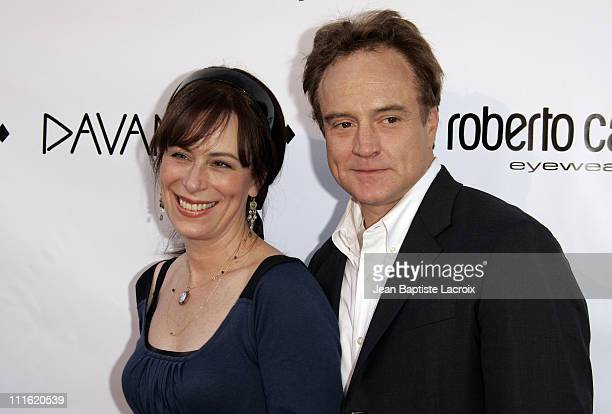 Jane Kaczmarek and Bradley Whitford during Davante Rodeo Drive Boutique Opening at Davante in Beverly Hills California United States