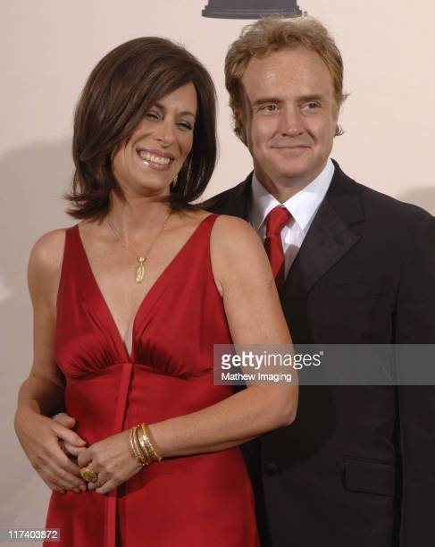Jane Kaczmarek and Bradley Whitford presenters during 58th Annual Creative Arts Emmy Awards Press Room at The Shrine Auditorium in Los Angeles...