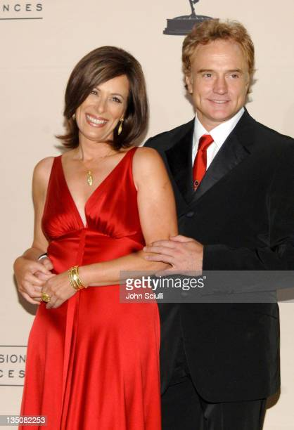Jane Kaczmarek and Bradley Whitford presenters during 58th Annual Creative Arts Emmy Awards Press Room at Shrine Auditorium in Los Angeles California...