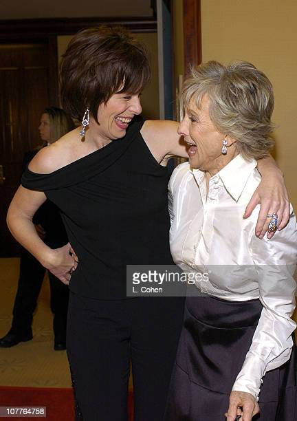 Jane Kaczmarek and Cloris Leachmen during 56th Annual Writers Guild Awards Arrivals at Century Plaza Hotel in Los Angeles California United States