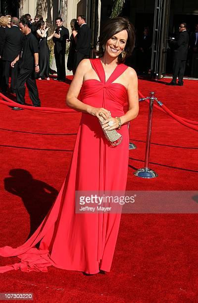 Jane Kaczmarek during 58th Annual Primetime Emmy Awards Arrivals at Shrine Auditorium in Los Angeles California United States