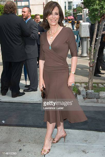 Jane Kaczmarek during ABC Upfront 2006/2007 Arrivals at Lincoln Center in New York City New York United States