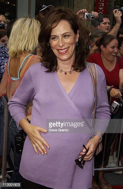 Jane Kaczmarek during 'American Idol' Season 1 Finale Results Show Arrivals at Kodak Theater in Hollywood California United States