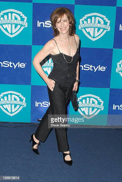 Jane Kaczmarek during InStyle Warner Bros 2006 Golden Globes After Party Arrivals at Beverly Hilton in Beverly Hills California United States