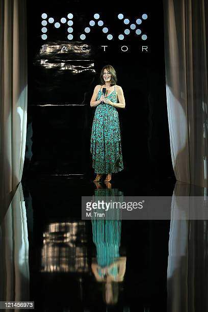 Jane Kaczmarek during Max Factor Salutes Hollywood Fashion Show at Social Hollywood in Los Angeles CA United States