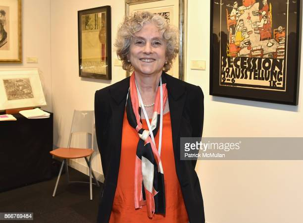 Jane Kallir attends the IFPDA Fine Art Print Fair Opening Preview at The Jacob K Javits Convention Center on October 25 2017 in New York City