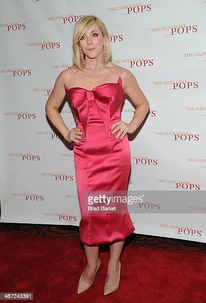 Jane Krakoski attends The New York Pops 31st Birthday Gala at the Mandarin Oriental Hotel on April 28 2014 in New York City