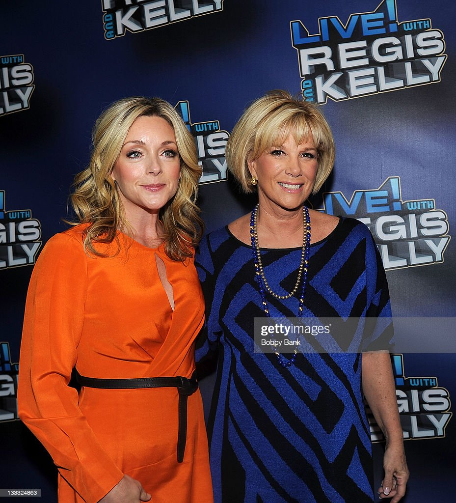 <a gi-track='captionPersonalityLinkClicked' href=/galleries/search?phrase=Jane+Krakowski&family=editorial&specificpeople=203166 ng-click='$event.stopPropagation()'>Jane Krakowski</a> and <a gi-track='captionPersonalityLinkClicked' href=/galleries/search?phrase=Joan+Lunden&family=editorial&specificpeople=206769 ng-click='$event.stopPropagation()'>Joan Lunden</a> attends Regis Philbin's Final Show of 'Live! with Regis & Kelly' at the Live with Regis & Kelly Studio on November 18, 2011 in New York New York.