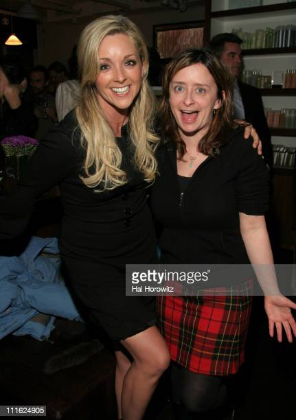 Jane Krakowski and Rachel Dratch during The Cinema Society and Frederic Fekkai Host a Screening for 'Gray Matters' After Party at Barolo in New York...