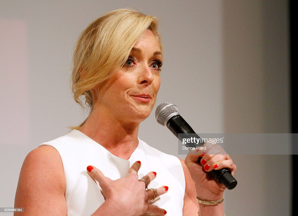 <a gi-track='captionPersonalityLinkClicked' href=/galleries/search?phrase=Jane+Krakowski&family=editorial&specificpeople=203166 ng-click='$event.stopPropagation()'>Jane Krakowski</a> appears to discuss 'She Loves Me' during the SAG-AFTRA Foundation Conversations series at The New School on April 28, 2016 in New York City.