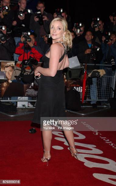 Jane Krakowski arrive for the world charity premiere of Alfie at the Empire Leicester Square in central London in aid of MakeAWish foundation