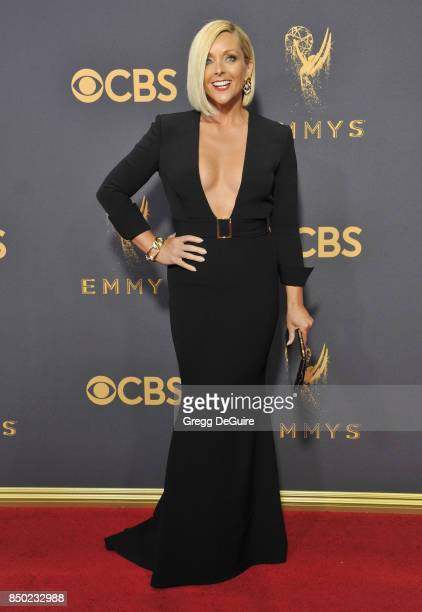 Jane Krakowski arrives at the 69th Annual Primetime Emmy Awards at Microsoft Theater on September 17 2017 in Los Angeles California