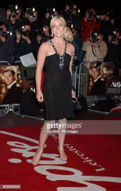 Jane Krakowski arrives for the world charity premiere of Alfie at the Empire Leicester Square in central London in aid of MakeAWish foundation