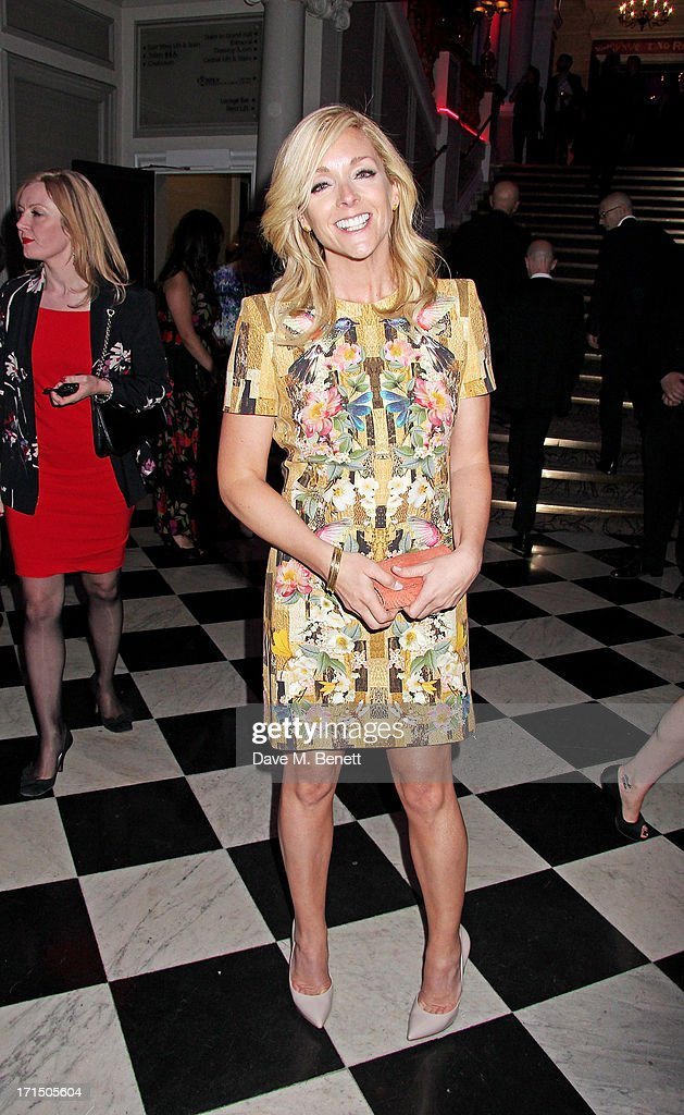 Jane Krakowski attends an after party celebrating the press night performance of 'Charlie And The Chocolate Factory' at The Grand Connaught Rooms on...
