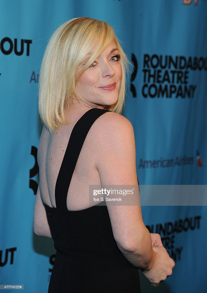 Jane Krakowski attends Roundabout Theatre Company's 2014 Spring Gala at Hammerstein Ballroom on March 10, 2014 in New York City.