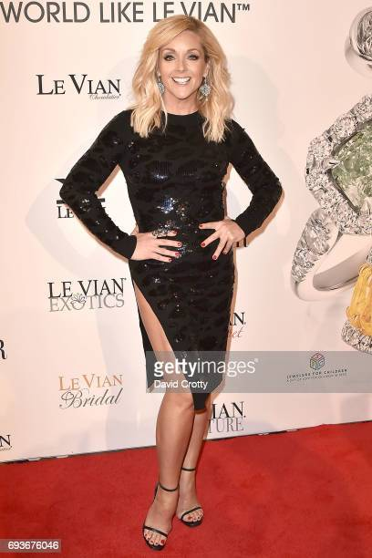Jane Krakowski attends the 2018 Le Vian Red Carpet Revue the at The Lagoon Ballroom at the Mandalay Bay Resort on June 7 2017 in Las Vegas Nevada