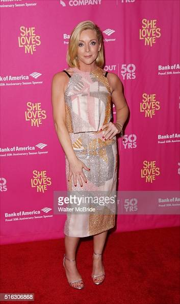 Jane Krakowski attends the Broadway Opening Night Performance press reception for 'She Loves Me' at Studio 54 on March 17 2016 in New York City