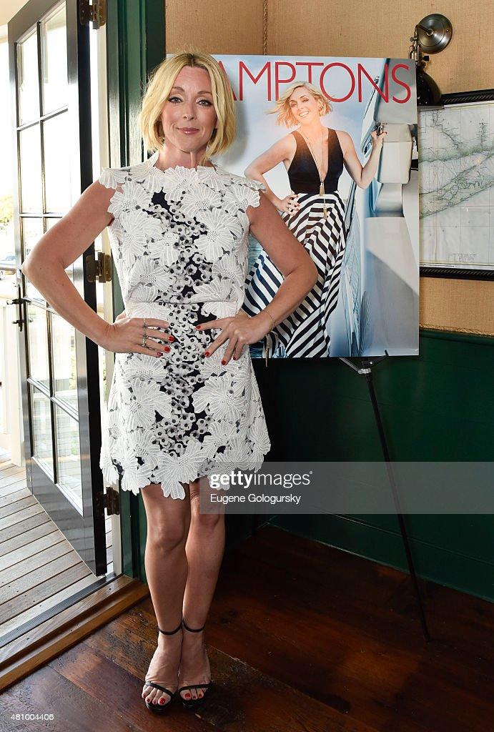 Jane Krakowski attends the Hamptons Magazine Celebration With Cover Star Jane Krakowski at Baron's Cove on July 16 2015 in Sag Harbor New York