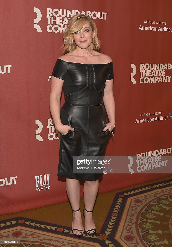 Jane Krakowski attends the Roundabout Theatre Company's 2015 Spring Gala at the Grand Ballroom at The Waldorf=Astoria on March 2 2015 in New York City