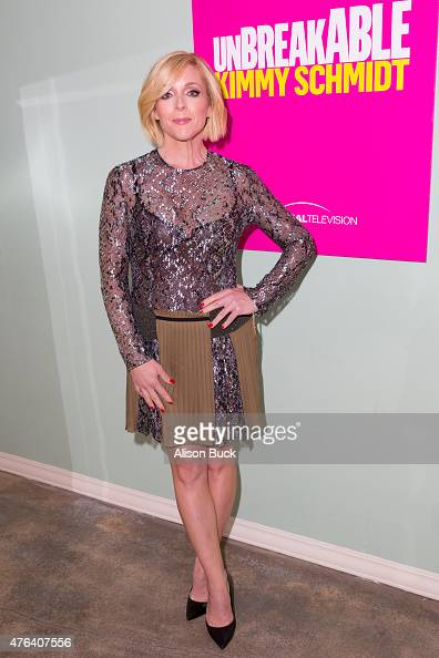 Jane Krakowski attends 'Unbreakable Kimmy Schmidt' FYC @ UCB Special Panel Discussion at UCB Sunset Theater on June 8 2015 in Los Angeles California