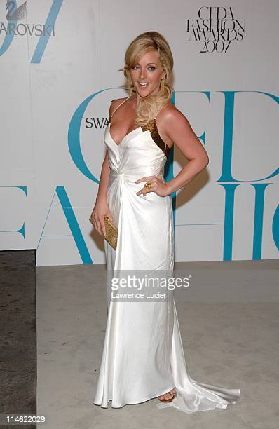 Jane Krakowski during 2007 CFDA Fashion Awards Red Carpet at New York Public Library in New York City New York United States