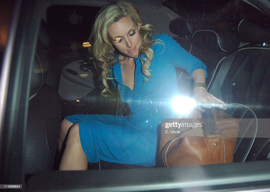 Jane Krakowski during 'Guys and Dolls' Press Night After Party at Wardour Street in London Great Britain