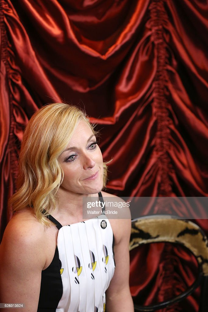 Jane Krakowski during the 2016 Tony Awards Meet The Nominees Press Reception at the Paramount Hotel on May 4, 2016 in New York City.