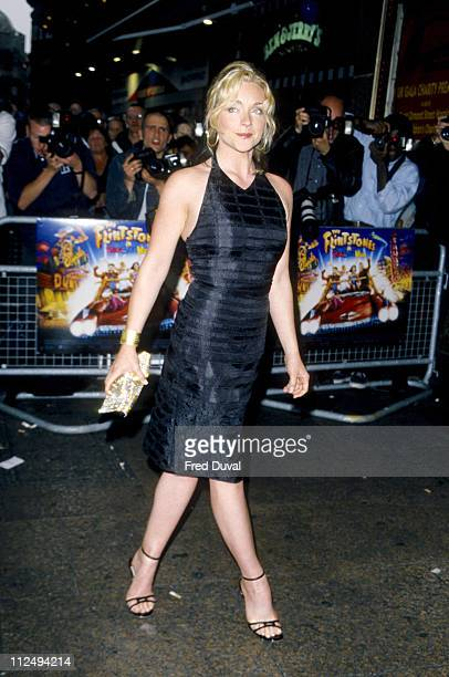 Jane Krakowski during The Flintstones in Viva Rock Vegas UK Gala Charity Premiere at Empire Leicester Square in London Great Britain
