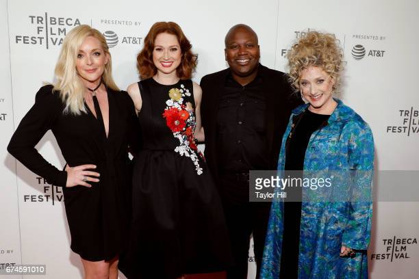 Jane Krakowski Ellie Kemper Tituss Burgess and Carol Kane attend the premiere of 'The Unbreakable Kimmy Schmidt' during the 2017 Tribeca Film...