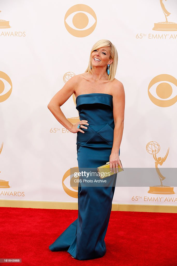 Jane Krakowski on the Red Carpet for the 65th Primetime Emmy Awards, which will be broadcast live across the country 8:00-11:00 PM ET/ 5:00-8:00 PM PT from NOKIA Theater L.A. LIVE in Los Angeles, Calif., on Sunday, Sept. 22 on the CBS Television Network.