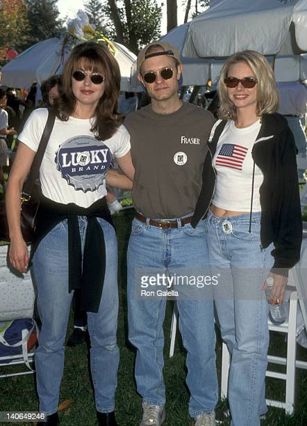 Jane Leeves and David Hyde Pierce Faith Ford at the 5th Annual 'StrollAThon' For Babies With AIDS Roxbury Memorial Park Beverly Hills