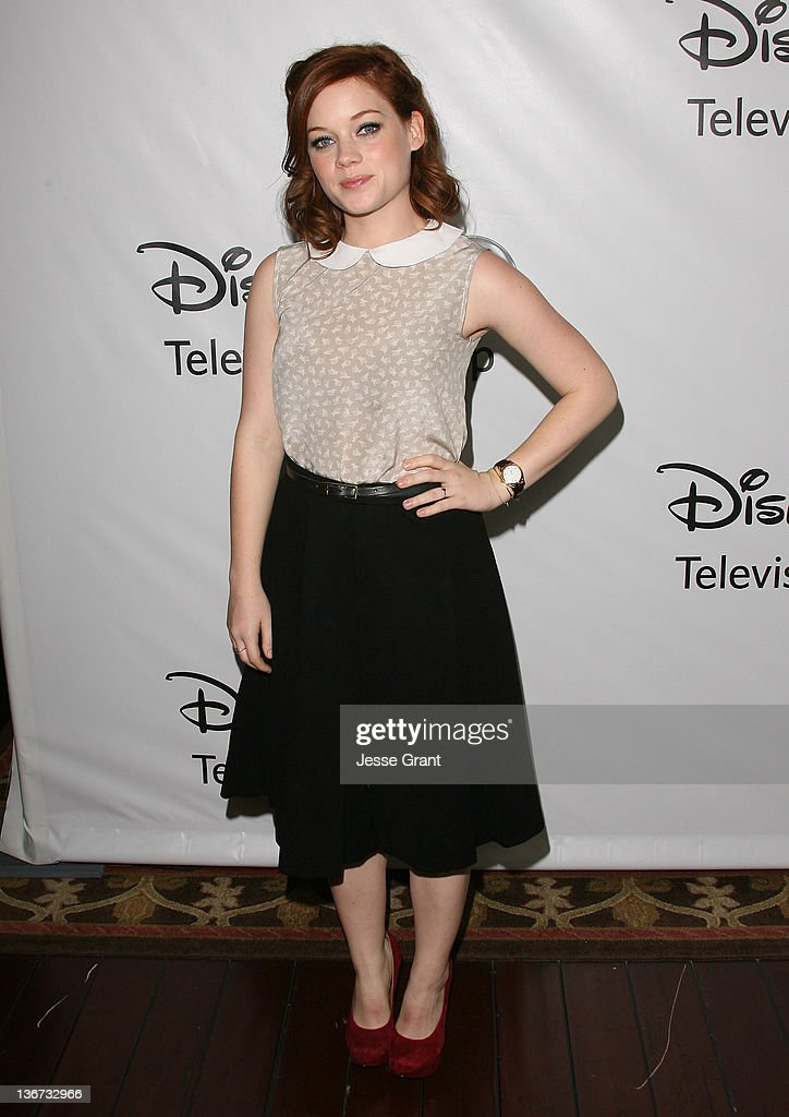 Jane Levy arrives to Disney ABC Television Group's 'TCA Winter Press Tour' at the Langham Huntington Hotel on January 10, 2012 in Pasadena, California.