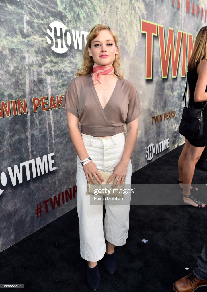 Jane Levy attends the premiere of Showtime's 'Twin Peaks' at The Theatre at Ace Hotel on May 19, 2017 in Los Angeles, California.
