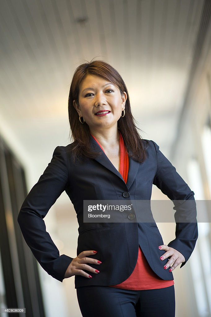 Jane Li, chief operating officer of Huawei Enterprise USA Inc., stands for a photograph after a Bloomberg West television interview in San Francisco, California, U.S., on Wednesday, Jan. 15, 2014. Huawei Enterprise USA Inc. was founded in 2011 and provides telephone voice and data communications services. Photographer: David Paul Morris/Bloomberg via Getty Images