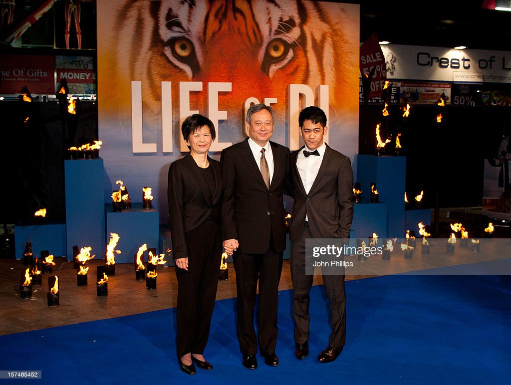 Life of pi uk premiere red carpet arrivals getty images for Life of pi family