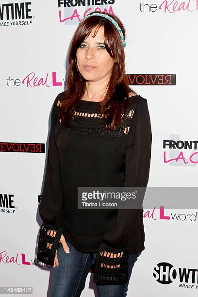 Jane Lipsitz attends the season 3 premiere of Showtime's 'The Real L Word' held at Revolver on July 17 2012 in West Hollywood California