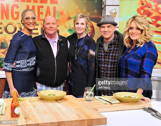 THE CHEW 1/13/16 Jane Lynch and Tiffani Thiessen are the guests today Wednesday January 13 2016 on 'The Chew' airing MONDAY FRIDAY on the ABC...