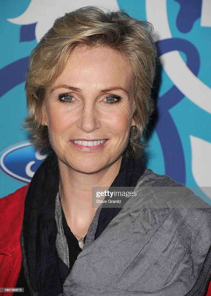 Jane Lynch arrives at the 2013 Fox Fall Eco-Casino Party at The Bungalow on September 9, 2013 in Santa Monica, California.