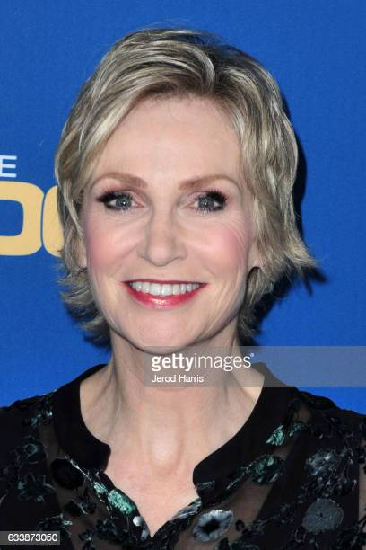 Jane Lynch arrives at the 69th Annual Directors Guild of America Awards at The Beverly Hilton Hotel on February 4 2017 in Beverly Hills California