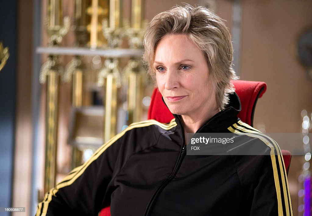 Jane Lynch as 'Sue' on Season Four of GLEE airing Thursday, February 7, 2013 (9:00-10:00 PM ET/PT) on FOX.