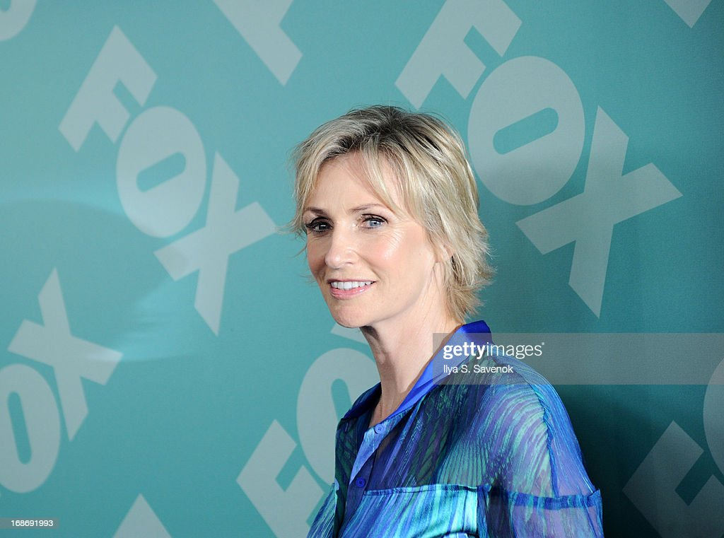 <a gi-track='captionPersonalityLinkClicked' href=/galleries/search?phrase=Jane+Lynch&family=editorial&specificpeople=663918 ng-click='$event.stopPropagation()'>Jane Lynch</a> attends FOX 2103 Programming Presentation Post-Party at Wollman Rink - Central Park on May 13, 2013 in New York City.