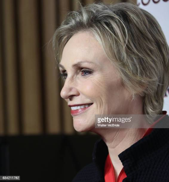 Jane Lynch attends the 14th Annual Red Dress Awards presented by Woman's Day Magazine at Jazz at Lincoln Center Appel Room on February 7 2017 in New...